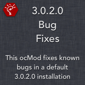 3.0.2.0 Bug Fixes