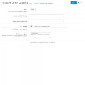 Account Login Captcha