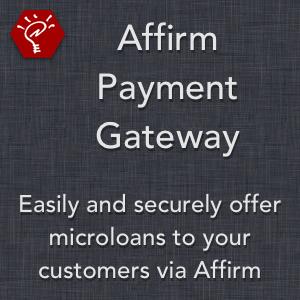 Affirm Payment Gateway