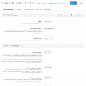 Auto-Add Products to Cart