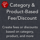 Category & Product-Based Fee/Discount