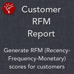 Customer RFM Report