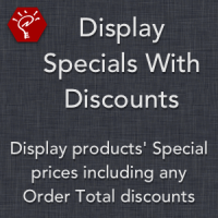 Display Specials With Discounts