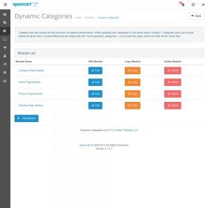 Dynamic Categories Module