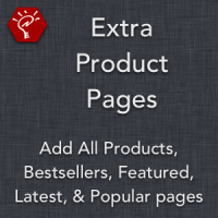 Extra Product Pages