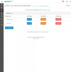 Filter by Attribute Module