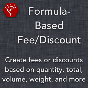 Formula-Based Fee/Discount