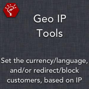 Geo IP Tools