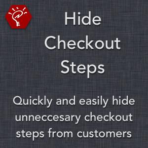 Hide Checkout Steps