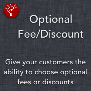 Optional Fee/Discount