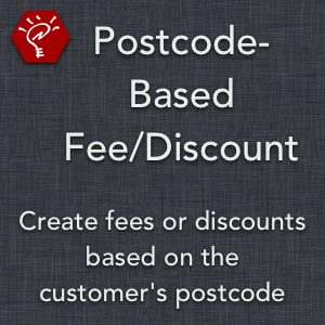 Postcode-Based Fee/Discount