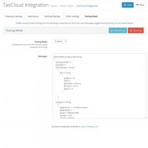 TaxCloud Integration